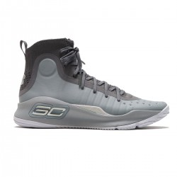 1298306-107_Chaussure de Basketball Under Armour Curry 4 Gris pour homme