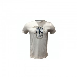 11493680_T-shirt MLB New York Yankees New Era League Blanc pour homme
