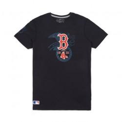 11493682_T-shirt MLB Boston Red Sox New Era League bleu Navy pour homme