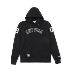 11493691_Sweat à Capuche MLB New York Yankees New Era East Coast Noir pour Homme