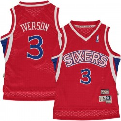 Maillot NBA Hardwood Classics Allen Iverson Philadelphia Sixers Pour enfants