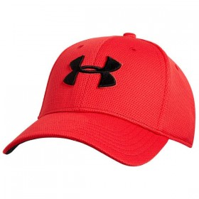 Casquette Under Armour Blitzing II rouge