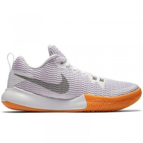 new products 30ab5 422ce AH7578-100 Chaussure de Basketball Nike Zoom Live II Blanc pour Femme