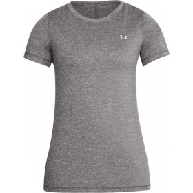 1285637-020_T-shirt Under Armour Heatgear Gris pour femme