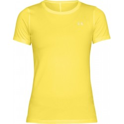 1285637-159_T-shirt Under Armour Heatgear jaune pour femme