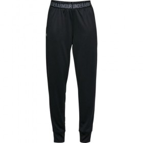 Pantalones Under Armour Play up Solid negro para mujer