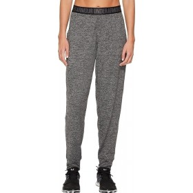Pantalones Under Armour Play up Solid gris para mujer