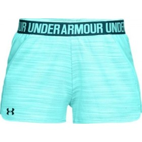 Short pour femme Under Armour play up 2.0 Novelty bleu