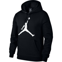 AH4507-010_Sweat à Capuche Jordan Flight Fleece Jumpman Air Pullover Hoodie Noir pour homme