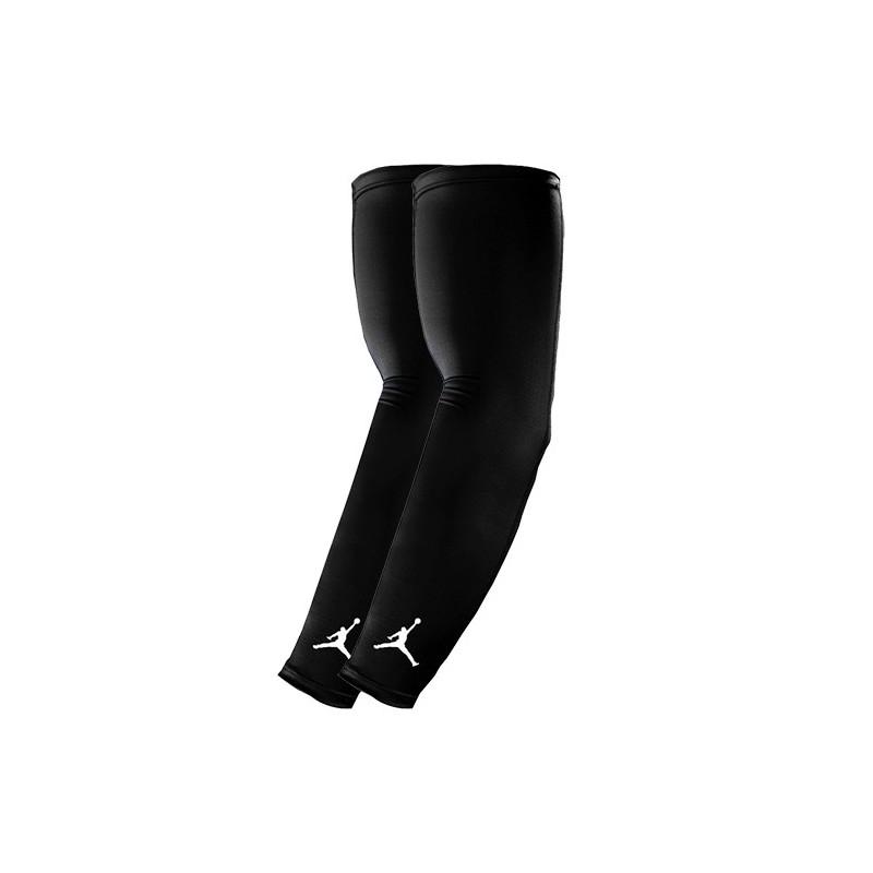 JKS04-010_Manchons de compression Jordan Shooter Noir (La paire)