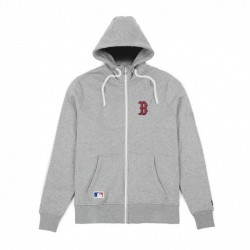 11517711_Veste Zippé MLB Boston Red Sox New Era Team Apparel 2018 gris pour homme