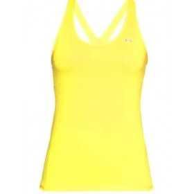 1271765-160_Débardeur Under Armour Heatgear Racer tank jaune pour femme