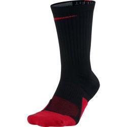 SX5593-010_Chaussette De Basketball Nike Elite 1.5 Noir et rouge