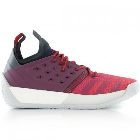"AH2124_Chaussure de Basketball adidas James Harden Vol.2 ""Maroon"" rouge pour homme"