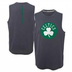 EK2B7BAA0_Débardeur NBA Boston Celtics gris pour enfant