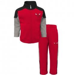 EK2B3BAAIBUL_Veste Zippé et pantalon NBA Chicago Bulls rouge pour enfant