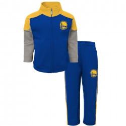 EK2B3BAAIwar_Veste Zippé et pantalon NBA Golden State Warriors Bleu pour enfant
