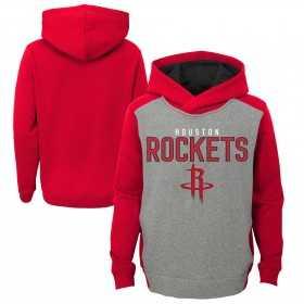 EK2B7BBAPROC_Sweat à capuche NBA Houston Rockets Gris pour enfant