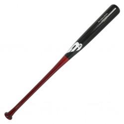 B45 pro select B243C Wood Baseball Bat Yellow Birch negro maroon