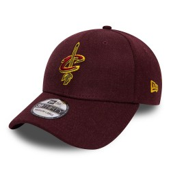 80536664_Casquette NBA Cleveland Cavaliers New Era Heather Team 39thirty Rouge