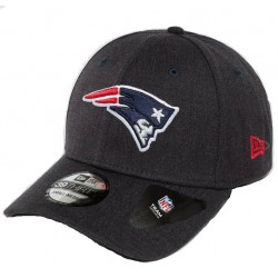 80536663_Casquette NFL New England Patriots New Era Heather Team 39thirty Noir