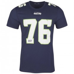 11517731_T-Shirt NFL Seattle Seahawks New Era Number Classic Navy pour homme