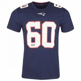 11517733_T-Shirt NFL New England Patriots New Era Number Classic Navy pour homme