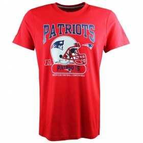 11517736_T-Shirt NFL New England Patriots New Era Helmet Classic Rouge pour homme