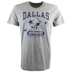 11517738_T-Shirt NFL Dallas Cowboys New Era Helmet Classic gris pour homme