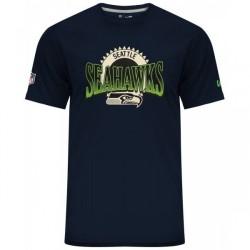 11517739_T-Shirt NFL Seattle Seahawks New Era Fan Pack Bleu Navy pour homme