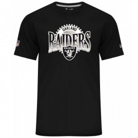 11517741_T-Shirt NFL Oakland Raiders New Era Fan Pack Noir pour homme