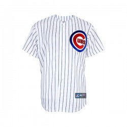 0191715817349_Maillot MLB 2017 Chicago Cubs Replica Majestic Blanc