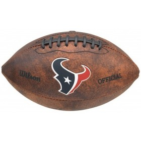 Ballon NFL Vintage Wilson Houston Texans