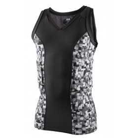 "Mcdavid V neck Sleeveless Hexpad ""dunk II"" protection Shirt digiteck"