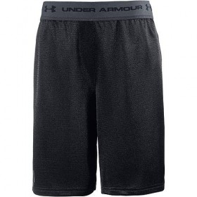 1309310-001_Short under armour Tech prototype Noir pour enfant