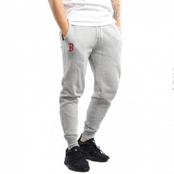 11517717_Pantalon MLB Boston Red sox New Era Team Apparel Fleece gris pour homme
