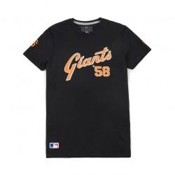 11517747_T-Shirt MLB San Francisco Giants New Era Superscript Noir pour Homme