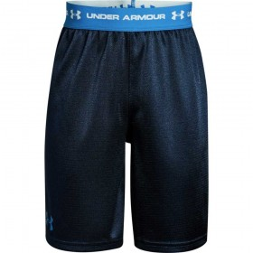 1309310-408_Short under armour Tech prototype bleu navy pour enfant