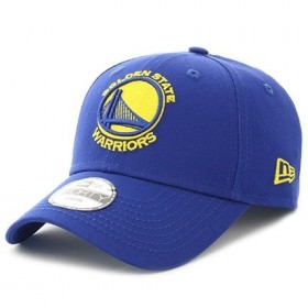 80536523_Casquette NBA Golden State Warriors New Era essential ajustable 9forty bleu pour enfant