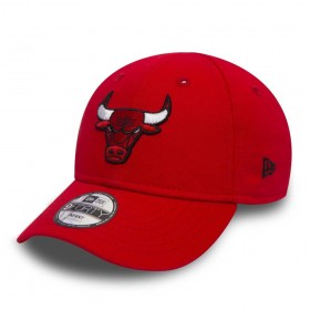 11493398_Casquette NBA Chicago Bulls New Era essential 9forty rouge pour bébé
