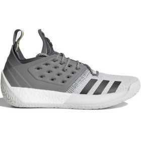 """AH2122_Chaussure de Basketball adidas James Harden Vol.2 """"Concrete"""" gris pour homme"""