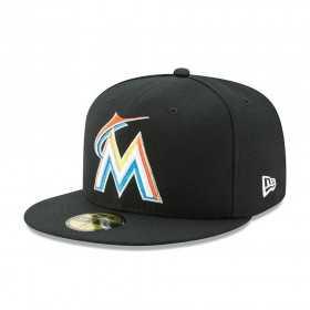 70360934_Casquette MLB Miami Marlins New Era authentic Performance classic noir 59fifty Pour adulte