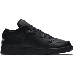 553560-006_Chaussure de Basket Air jordan 1 low BG Noir pour Junior