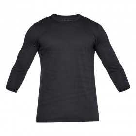 1312339-001_T-shirt manches 3/4 Under Armour Threadborne Noir pour homme