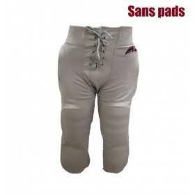 SPORTLANDPANTGRY_Pantalon de football américain Sportland gris pour adulte