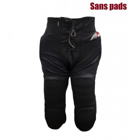 SPORTLANDPANTBLK_Pantalon de football américain Sportland Noir pour adulte