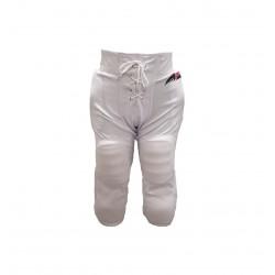 SPORTLANDPANTINTWHT_Pantalon de football américain tout intégré Sportland Blanc pour adulte