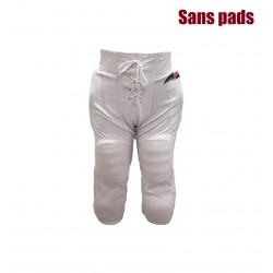 SPORTLANDPANTWHT_Pantalon de football américain Sportland blanc pour adulte