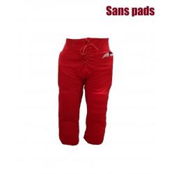 SPORTLANDPANTRED_Pantalon de football américain Sportland rouge pour adulte