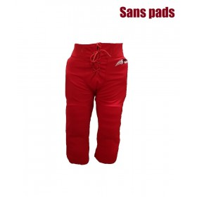 SPORTLANDPANTRED_Pantalon de football américain Sportland rouge pour adulte